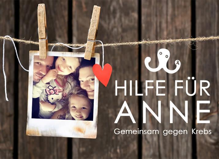 HILFE FÜR ANNE - gemeinsam gegen Krebs