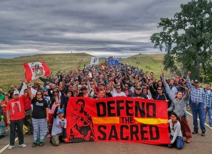 Solidarität für Standing Rock!