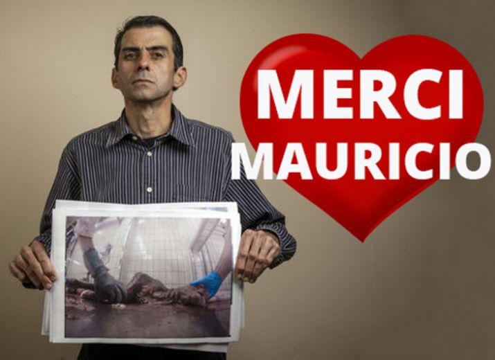 Solidarité avec Mauricio, le lanceur d'alerte de l'abattoir de Limoges