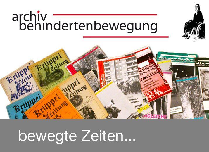 Archiv Behindertenbewegung
