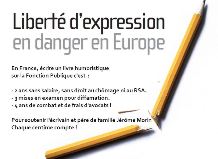 Solidarité avec le combat de l'écrivain lanceur d'alertes Jérôme Morin