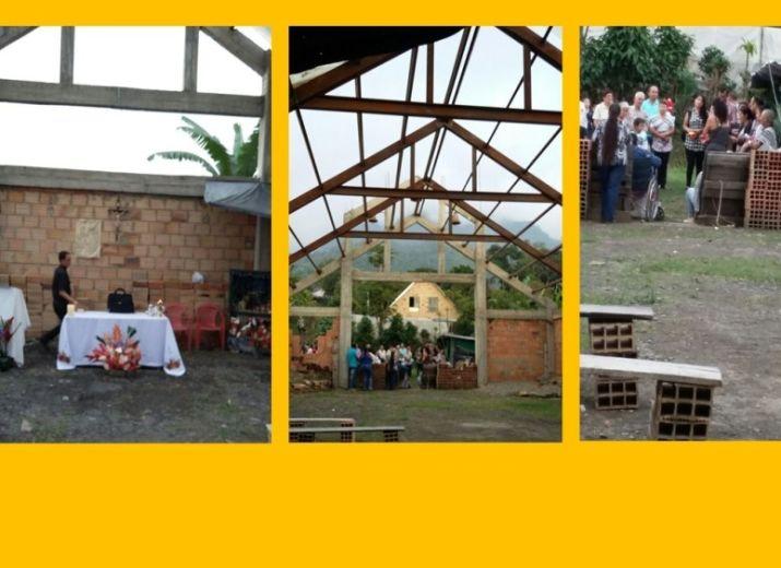 Bâtissons ensemble l'église d'Anatoli (Colombie)