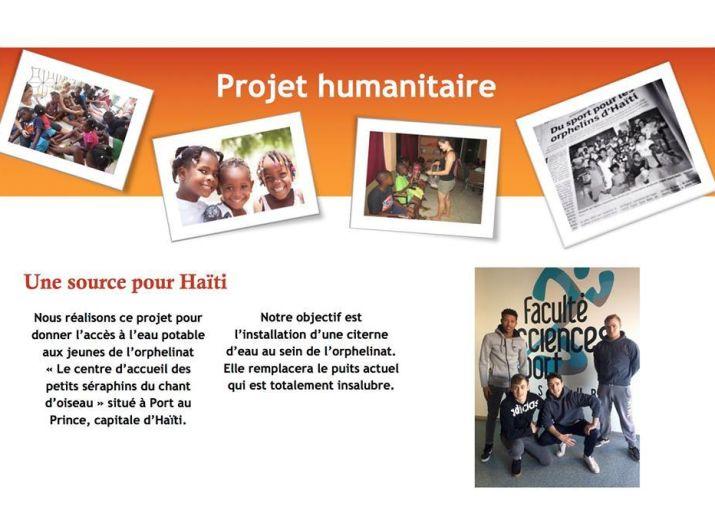 Une source pour Haïti
