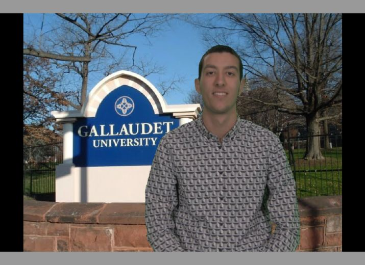 Université Gallaudet à Washington - Stage spécifique pour personne sourde