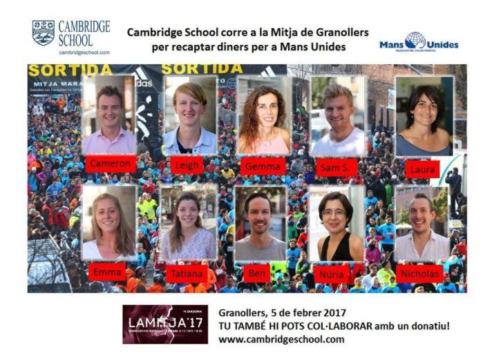 Mitja Marató - Collection for Mans Unides