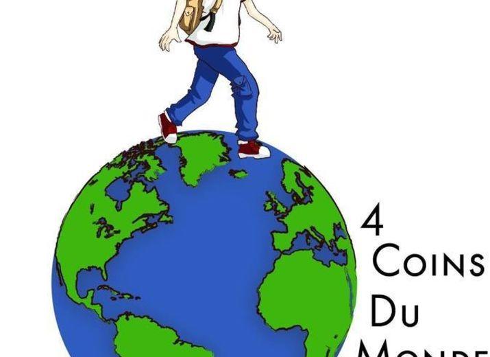 """4 coins du monde"""