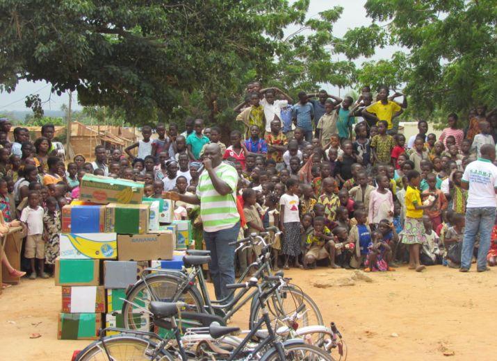 Soutien à Projet Komla Togo: envoi de matériel scolaire