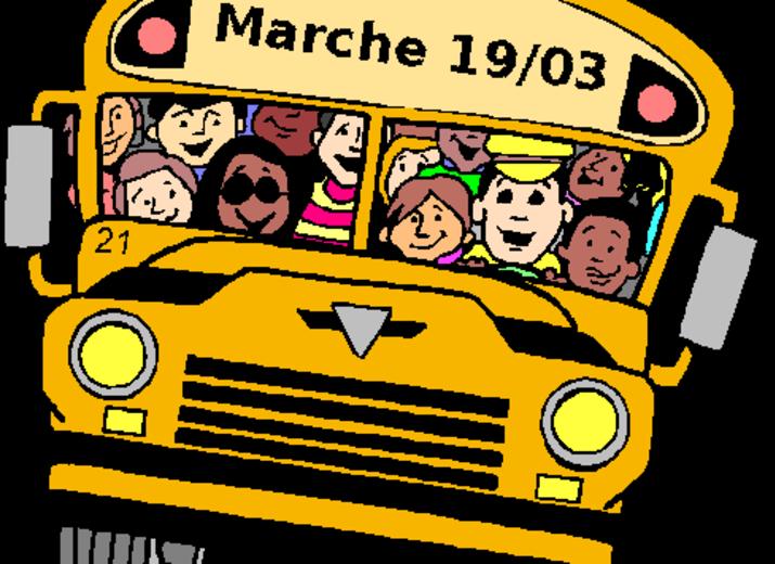 Des bus pour la marche du 19 mars