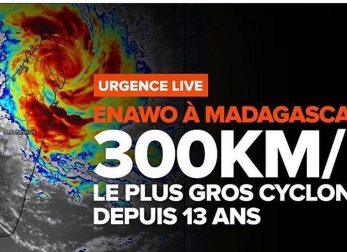 Pour les sinistrés du cyclone ENAWO