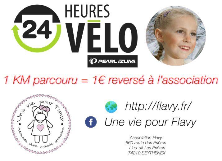L'association Flavy - 24h du Mans vélo 2017