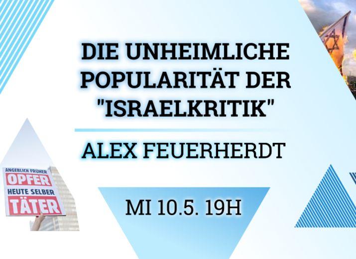 Veranstaltung mit Alex Feuerherdt in Kiel