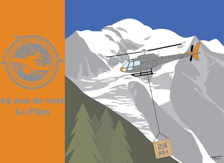 Chamonix Mont-Blanc Hélicoptères, une entreprise familiale, 25 ans de vols. (Le film)