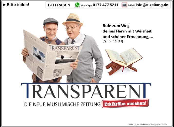 Unterstützt die neue muslimische Zeitung