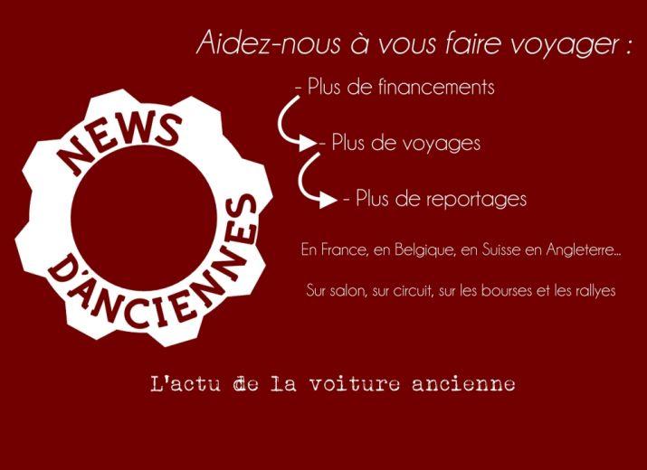 Financement permanent de News d'Anciennes
