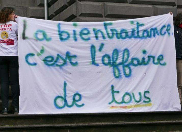 Ensemble, soutien à  Céline Boussié, Lanceuse d'alerte