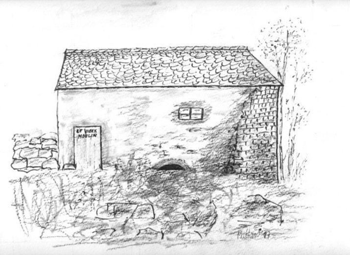 Restauration du Moulin des Deux Rieu