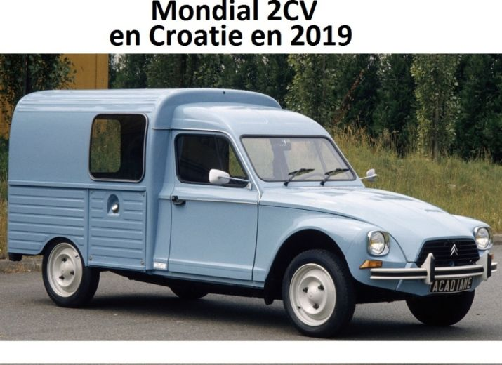 cagnotte mondial 2cv croatie 2019 en acadiane am nag e. Black Bedroom Furniture Sets. Home Design Ideas