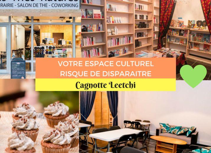 Tous avec Lis Thés Ratures pour sauver l'entrepreneuriat et la culture !