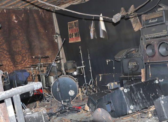 Unterstützung für die Erfurter Bands Trén und Upsolate nach Proberaumbrand