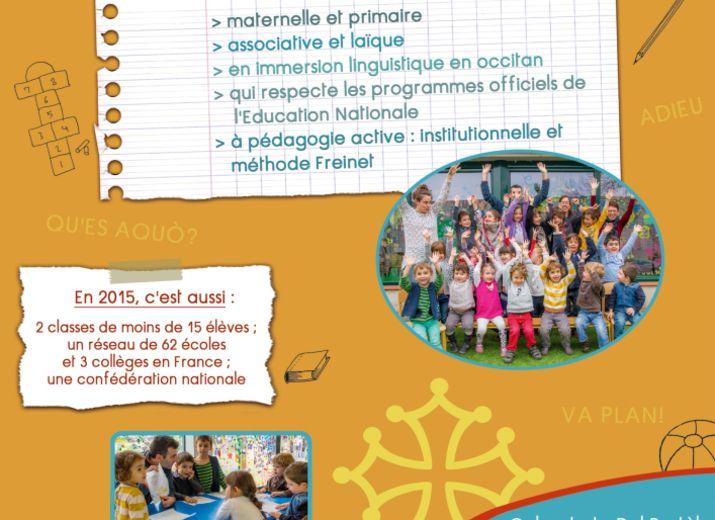 Pour maintenir le soutien pédagogique de la Calandreta de Lavaur !