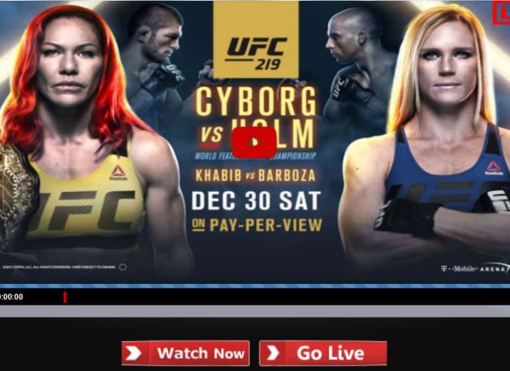 how to watch ufc live stream free