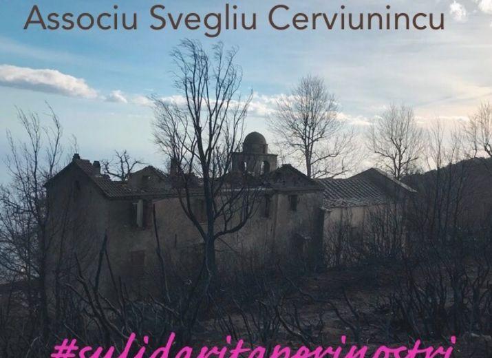 Sulidarità fochi di  Cervioni/St Andria di Cotone/ Chiatra /Canale
