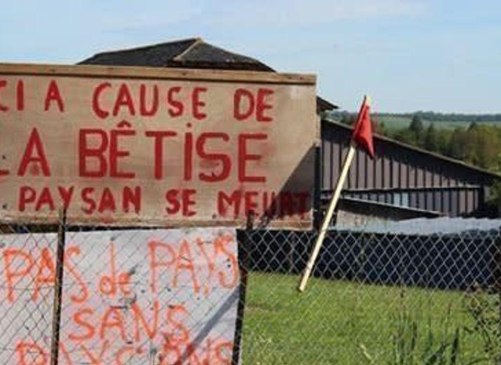 Soutien à Nicolas BARDY, agriculteur de Lacapelle Viescamp (Cantal)