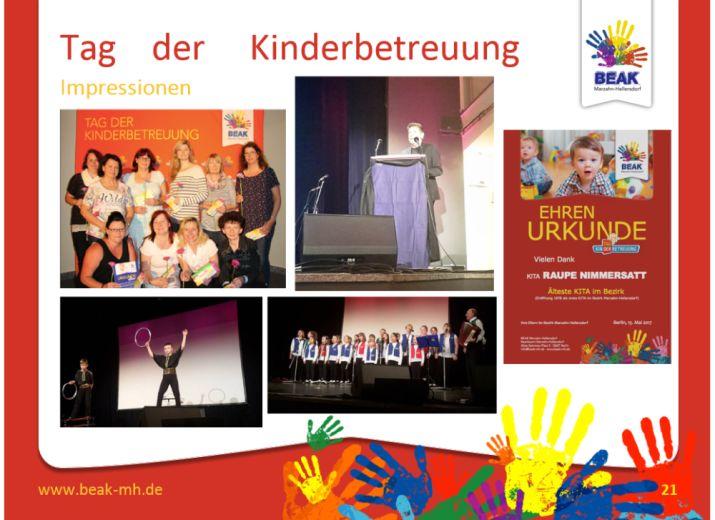 Tag der Kinderbetreuung