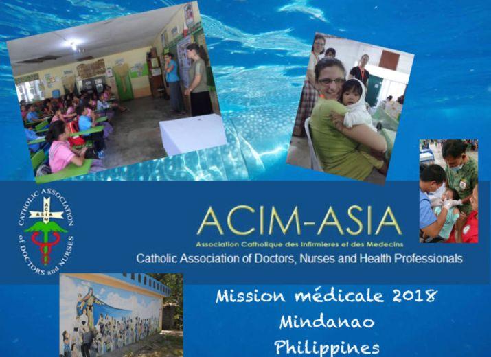 Aide pour la mission médicale ACIM-Asia (Philippines)