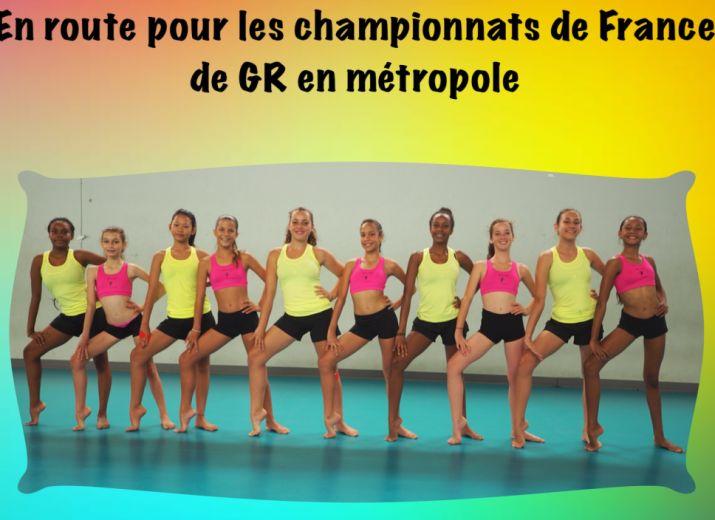 Déplacement Championnat de France de GR