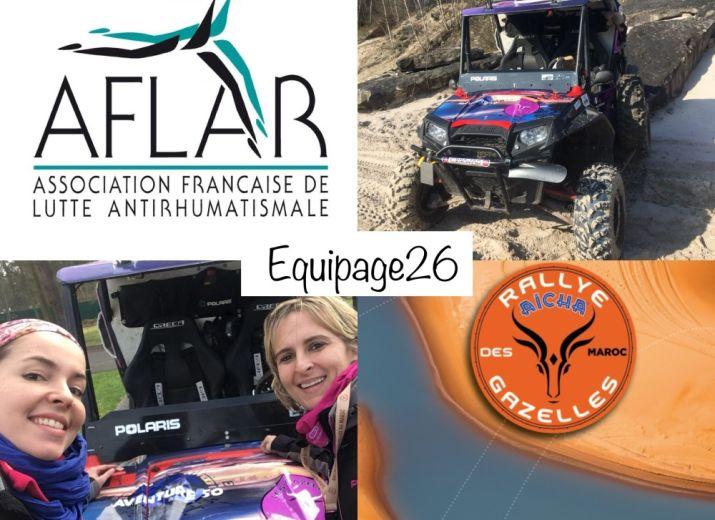 Cagnotte pour Finaliser la participation d'Amélie&Emilie au Rallye Aïcha des Gazelles en SSV