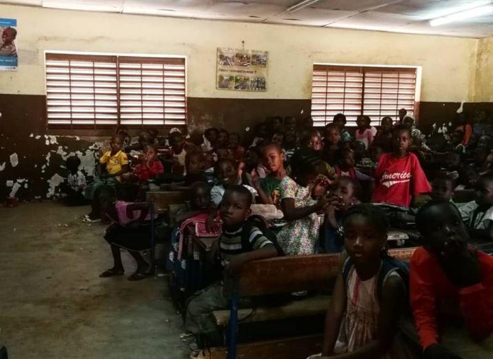 De l'eau pour le groupe scolaire Yacouba Sidibé