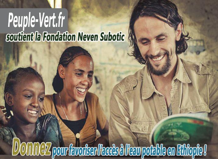 Le Peuple Vert supporte la Fondation Neven Subotic