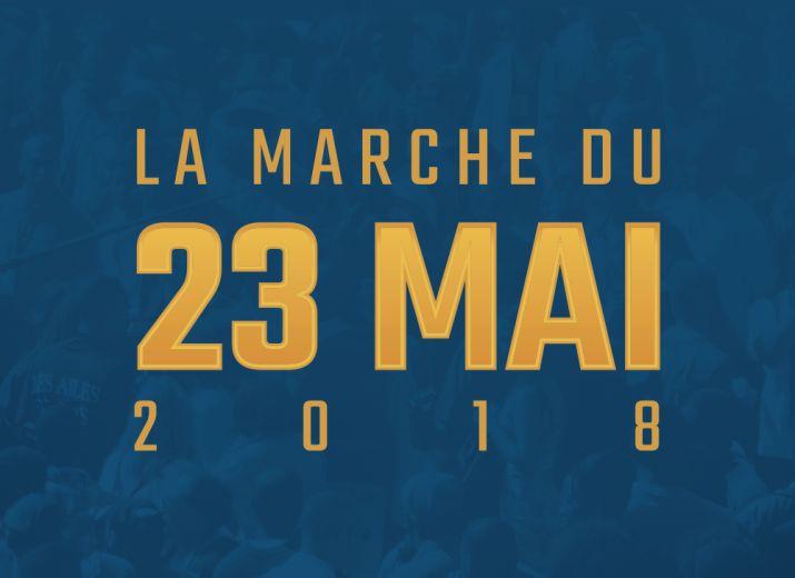 La marche du 23 mai 2018