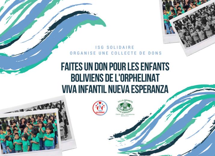 "Collecte de fonds Orphelinat ""Nueva Esperanza"""