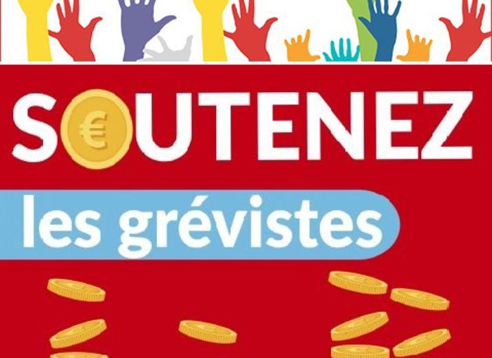 Caisse de grève DRFIP Nord / soutien financier Grèvistes du CEL