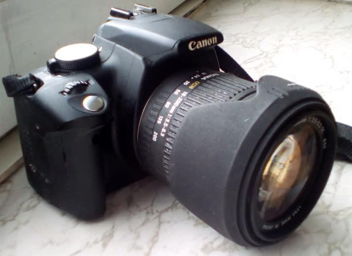 Canon EOS für Frosch
