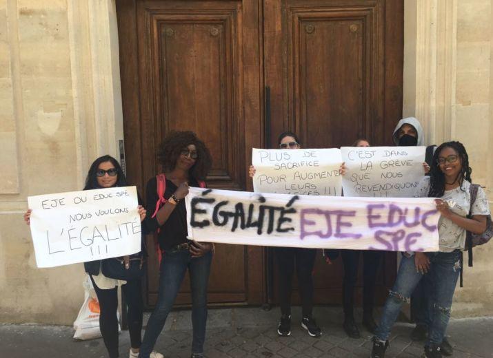Educatrices de Jeunes Enfants en grève reconductible de la Société Philanthropique