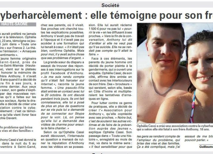 Pour Anthony