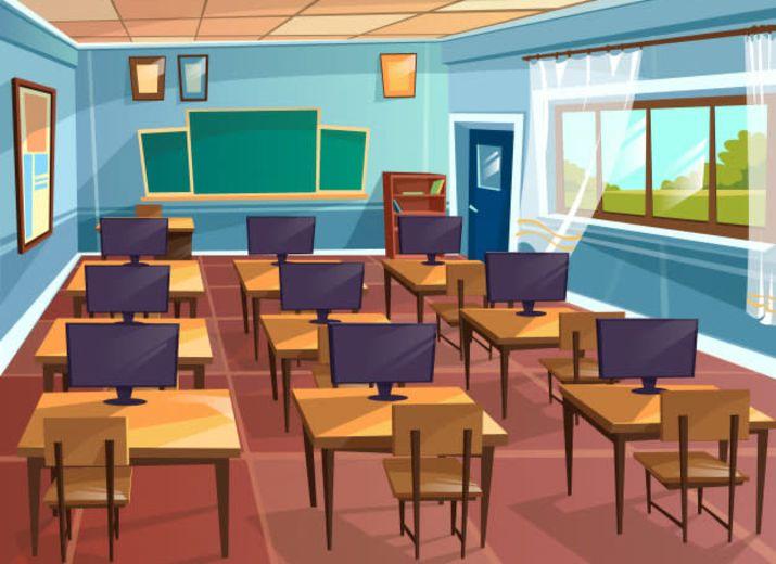 Salle multimédia au lycée de BALENGOU KASSANG