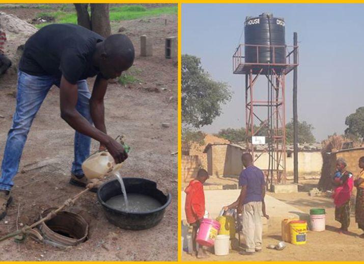 Brunnen für Children Center in Kabwe, Sambia