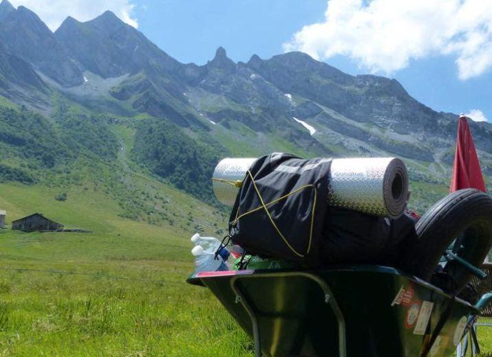 Des kilomètres en brouette - Route des Grandes Alpes