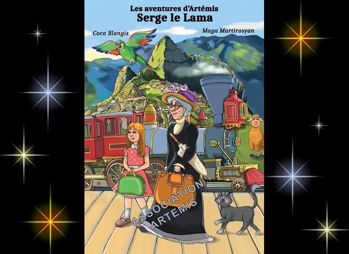 [La fin !! ] BD : 74e Page : Les aventures d'Artemis, Serge le Lama. (au pérou)