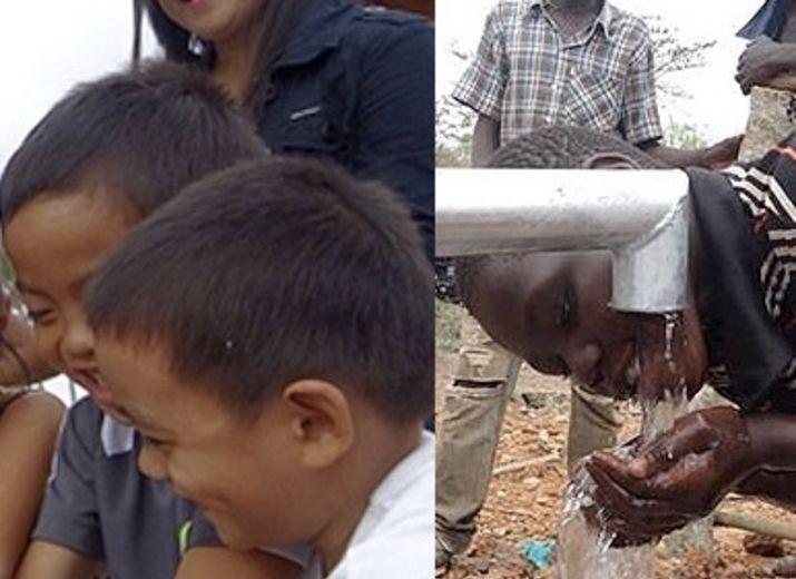 Wir bauen einen Dorfbrunnen in Kenia