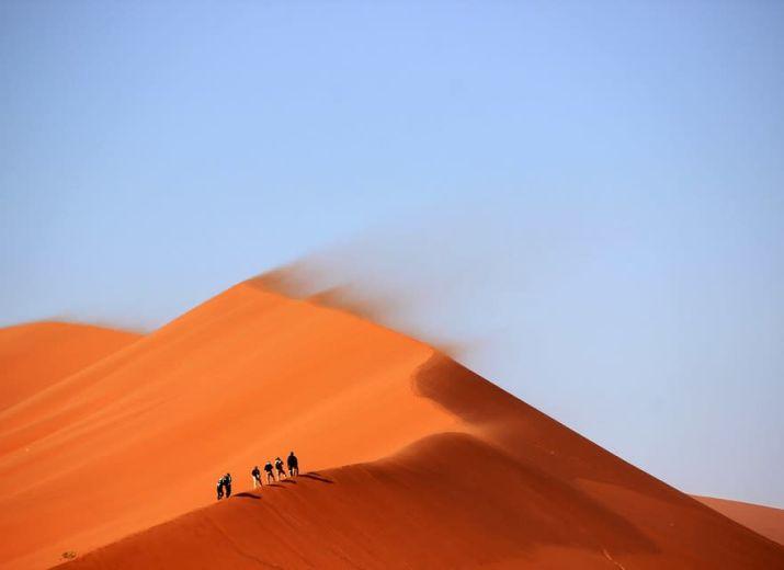 Semi-marathon des sables Pérou