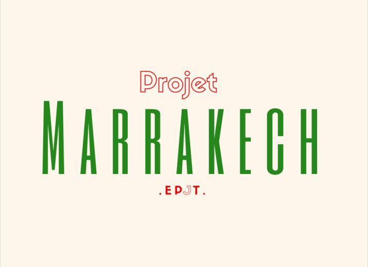 La jeunesse marocaine - projet Marrakech des étudiants de l'EPJT