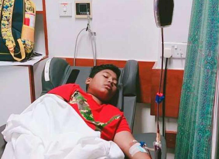Mein Neffe 14, will weiterleben, bitte rette sein Leben mit mir zusammen / Please save the life of my nephew with me
