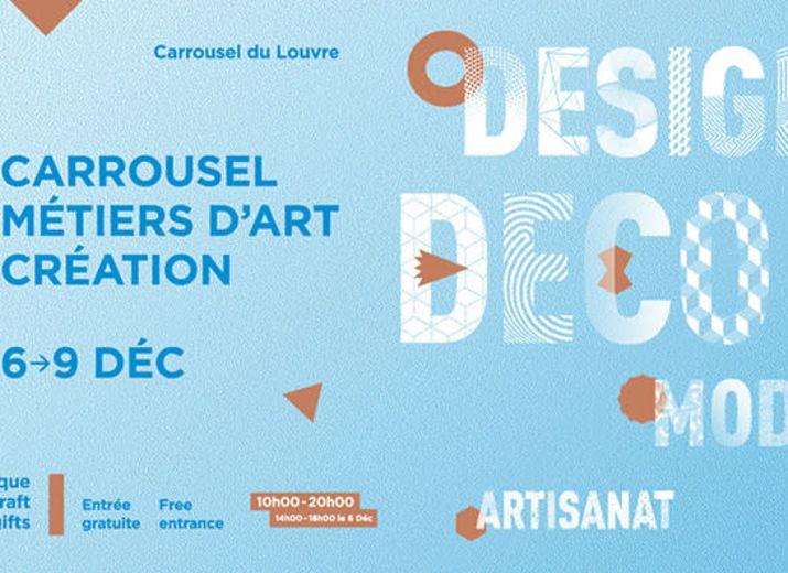Emmenez-nous au Carrousel des Métiers d'Art et de Création