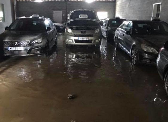 Soutien à l'entreprise Taxi Nathalie sinistrée à Trèbes