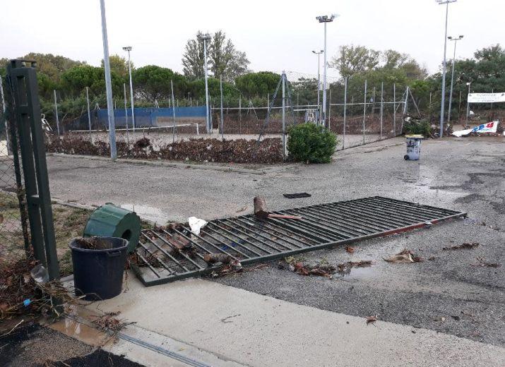 """Club Tennis de Trèbes """"INONDATION"""""""